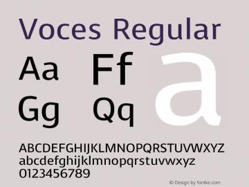 Voces Version 1.0图片样张
