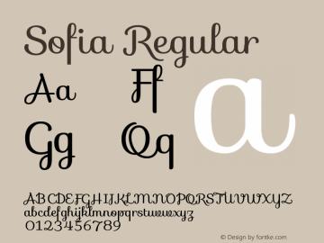 Sofia Version 1.0图片样张