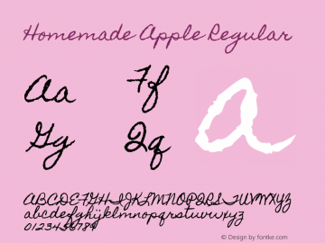 HomemadeApple Version 1.0图片样张