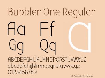 BubblerOne Version 1.0图片样张