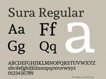 Sura Version 1.0图片样张