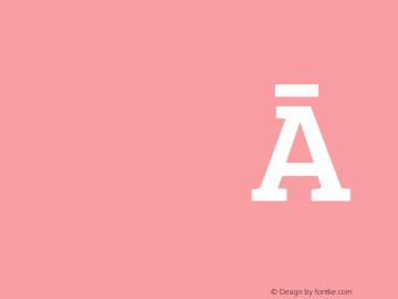 Bree Serif Regular 图片样张
