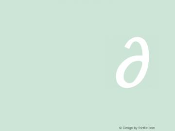 Modern Antiqua Regular  Font Sample