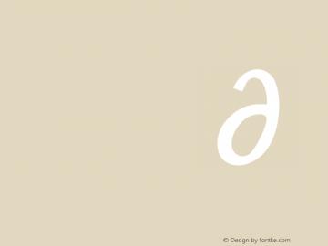ModernAntiqua Version 1.0 Font Sample