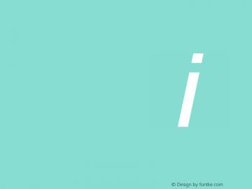 Sansation Italic 图片样张