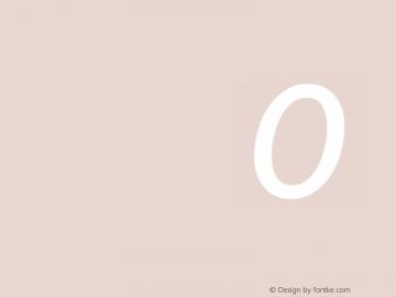 Source Sans Pro Italic 图片样张