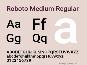 RobotoMedium Version 1.0图片样张