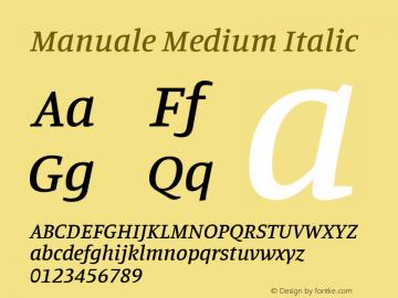 ManualeMedium Version 1.0图片样张