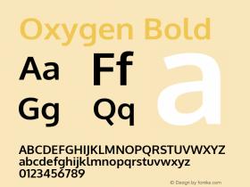 Oxygen Bold 图片样张