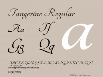 Tangerine Version 1.0图片样张