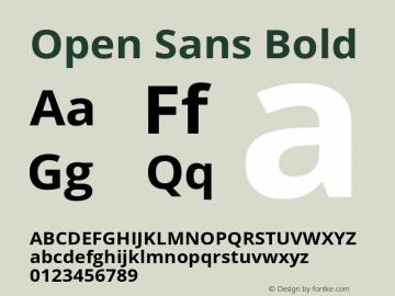 OpenSans Version 1.0图片样张