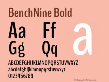 BenchNine Version 1.0图片样张
