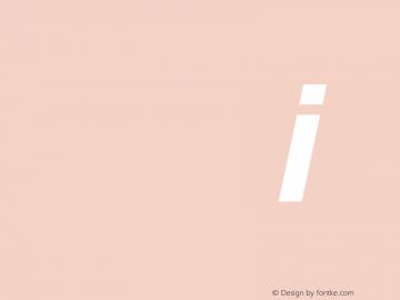 Sansation Bold Italic 图片样张