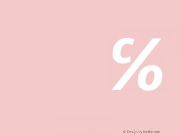Open Sans Bold Italic 图片样张