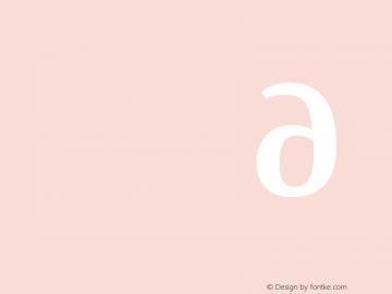 Manuale Bold Italic 图片样张