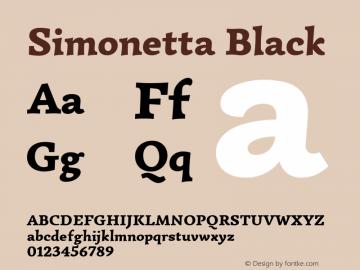 Simonetta Black 图片样张