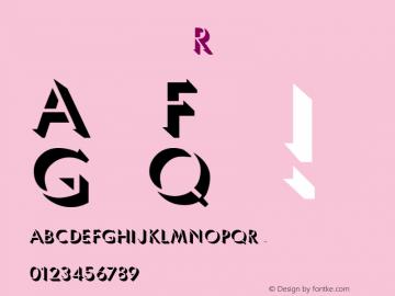 Umbles Regular Macromedia Fontographer 4.1 3/24/97 Font Sample