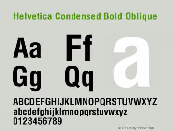 Helvetica-Condensed-BoldObl 001.004图片样张