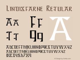 Lindisfarne Regular Altsys Fontographer 4.0.3 8/18/98 Font Sample