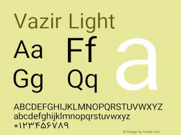 Vazir Light Version 10.0.1图片样张