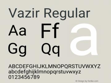 Vazir Version 10.0.1图片样张