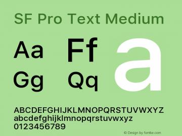 SF Pro Text Medium Version 01.0d1e2图片样张
