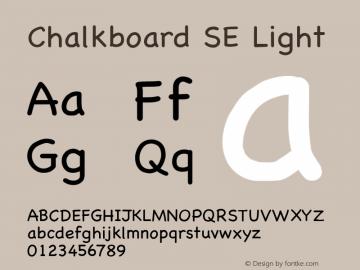 Chalkboard SE Light 8.0d2e1  烈风convert图片样张