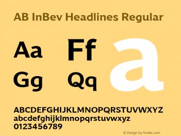 AB InBev Headlines Version 001.001图片样张