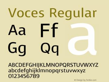 Voces Version 1.001图片样张