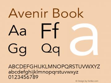 Avenir Book 8.0d3e1图片样张