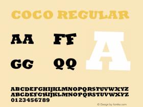 Coco Version 1.00 June 10, 2017, initial release图片样张