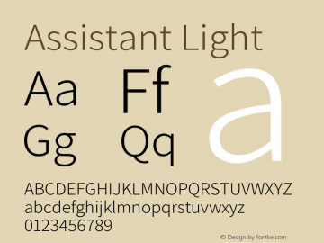 Assistant Light Version 2.002图片样张