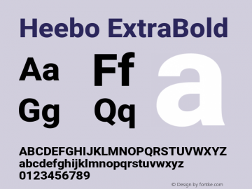 Heebo ExtraBold Version 2.002; ttfautohint (v1.5.14-ce02) -l 8 -r 50 -G 200 -x 14 -D hebr -f latn -w G -W -c -X