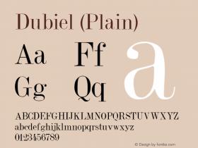 Dubiel (Plain):001.001 001.001图片样张