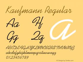 KaufmannBT-Regular 2.0-1.0图片样张