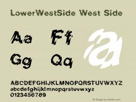 LowerWestSide West Side:001.001 001.001图片样张