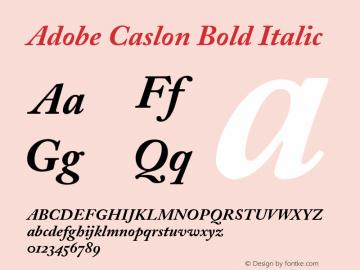 ACaslon-BoldItalicOsF 001.001图片样张