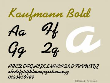 KaufmannBT-Bold 2.0-1.0图片样张