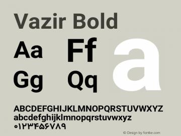 Vazir Bold Version 11.0.1图片样张