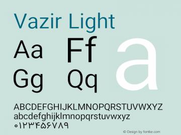 Vazir Light Version 11.0.1图片样张