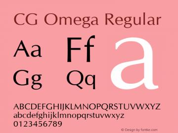 CG Omega Version 1.3 (Hewlett-Packard)图片样张