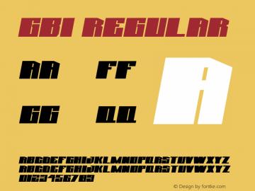 GBI Font|GBI Macromedia Fon ographer 4 1J 4/8/97 Font-TTF