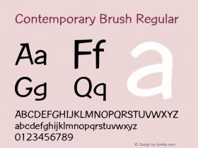 Contemporary Brush Version 1.0图片样张