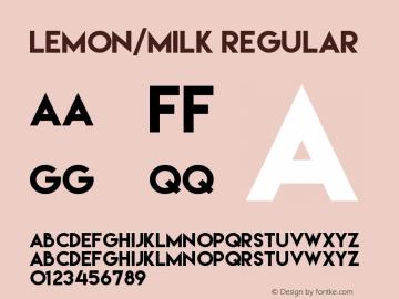 Lemon/Milk Version 1.0图片样张
