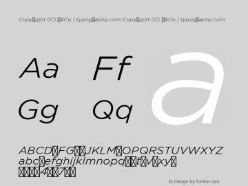 Copyright (C) H&Co | typography.com Version 1.201图片样张