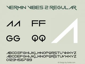 Vermin Vibes 2 Version 1.00 June 23, 2013, initial release图片样张