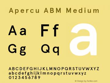 ApercuABM-Medium Version 001.001图片样张