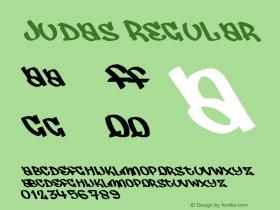 Judas Macromedia Fontographer 4.1.5 25‐07‐2001图片样张