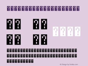Unifont Upper Version 10.0.02 Font Sample