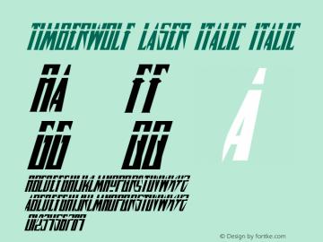 Timberwolf Laser Italic 001.000图片样张